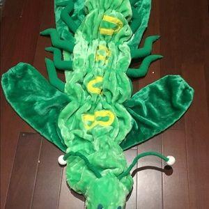 Other - Grasshopper plush costume.